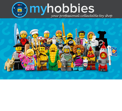 LEGO 71018 Minifigures Series 17 Complete Set Brand New and Sealed