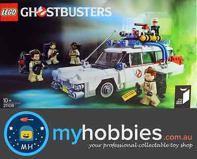 LEGO® Ideas 21108 Ghostbusters™ Ecto-1 BRAND NEW and Sealed