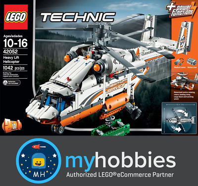 LEGO 42052 Technic Heavy Lift Helicopter Brand New and Sealed