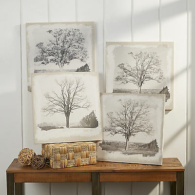 Changing Seasons Tree Plaques Birch Lane Free Shipping High Quality