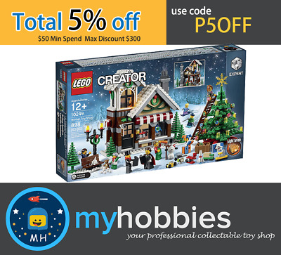 LEGO 10249 Creator Winter Toy Shop Brand New and Sealed