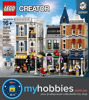 LEGO 10255 Creator Assembly Square Brand New and Sealed