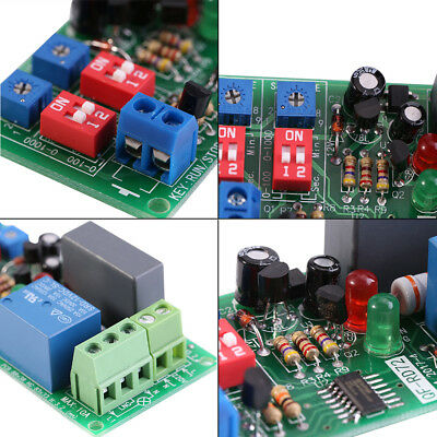 AC 100V- 250V Adjustable Cycle Delay Time Timer Relay ON OFF Switch Loop Module