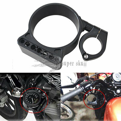 "39mm/16"" Side Mount Speedo Relocation Bracket For Harley Sportster XL883 1200 48"