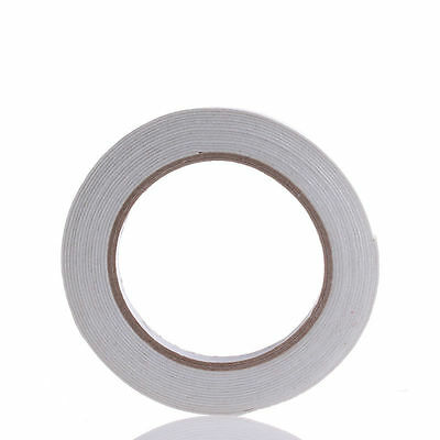 Double Sided Strong Sticky 5m Self Adhesive Foam Tape Mounting Fixing Pad