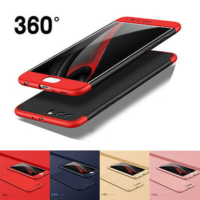 For Huawei P10 Plus Case 360 Full Cover Shockproof Slim Hybrid Hard Bag Shiled