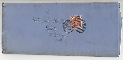 Gb 1888 Middlesborough Interesting Document Re:bankruptcy Signed Jr Stubbs 1888