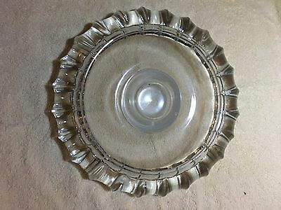 US Congressional 60's  Glass Astray From Office Of Henry Helstoski