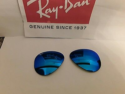 Ray ban RB3025 aviator Blue mirror sunglasses  lenses size 55