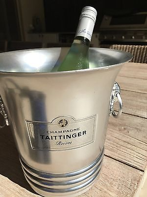 French Champagne Bucket In Good Used Condition. Signage 'taittinger'