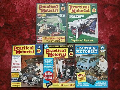 *Collection of 1960s Practical Motorist Magazines