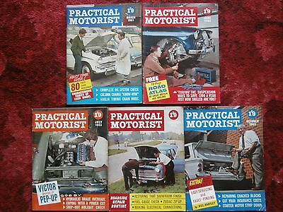 *Collection of 1960s Practical Motorist Magazines (2)