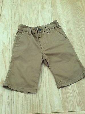 Boys Next camel coloured shorts in age 7 years
