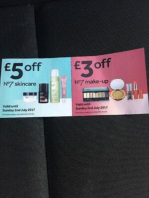 Boots £8 Vouchers Money Off Skincare Makeup