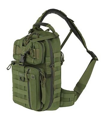 Maxpedition Sitka Gearslinger Sling Pack Tactical CCW MOLLE Bag Green Hiking