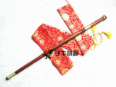 Double Functions----Handmade Walking Stick CaneTop Rosewood Body