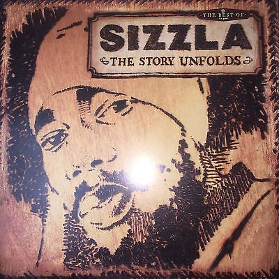 Sizzla ‎- The Story Unfolds / The Best Of 2x LP Vinyl 2002 Album