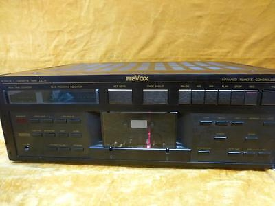 REVOX B215S  Cassette  Deck  good working order, nakamichi cr7 and dragon beater