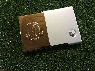 The Open Royal Liverpool 2014 Business Card Holder (boxed)
