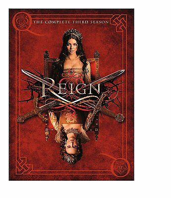 REIGN - COMPLETE SEASON 3  box set -  DVD - New & sealed