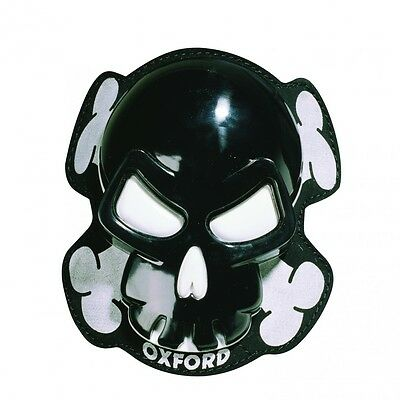 Oxford Knieschleifer Knee Slider Skull Black
