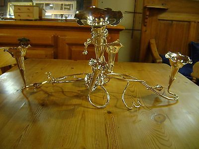 Silver plated epergne by Mappin and Webb