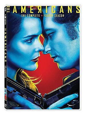 THE AMERICANS SEASON 4 DVD - New & sealed Region 1