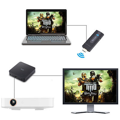 MEASY W2H Wireless HDMI Extender Transmitter Receiver 1080P Video/Audio NEW DY