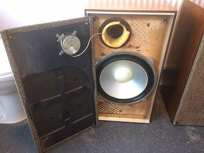 Pair of LEAK Audio Speakers Large Size 15 Ohm