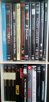 LOTTO/stock 120 film in DVD D'AUTORE E CULT HORROR - SIGILLATI E COME NUOVI RARI
