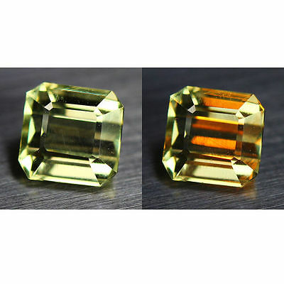 1.17 Cts_World Class Rarest Gemstone_100 % Natural Color Change Diaspore_Turkey