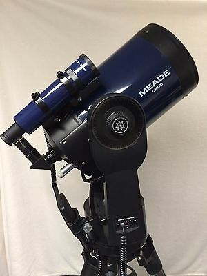 Meade LX90 UHTC Catadioptric Telescope, Tripod, Accessories- EXCELLENT CONDITION
