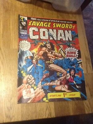 Savage Sword Of Conan Comic no.1 Marvel 8th March 1975