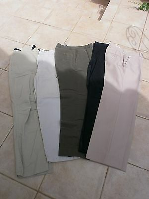 5 pantalons  homme  taille 42