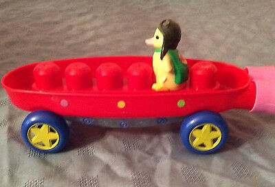 Wonder pets Mega Block 4 Piece Land And Sea Fly boat with duck Ming Ming
