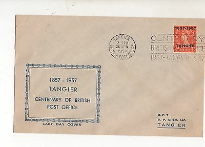 Morocco Tangier 1957 Illustrated Cover