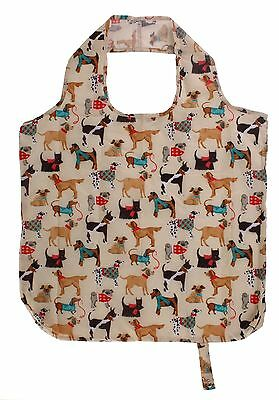 Ulster Weavers Packable Re-usable Shopping Bag Hound Dog