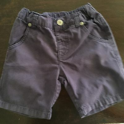 Boys Navy Sprout Shorts Size 1
