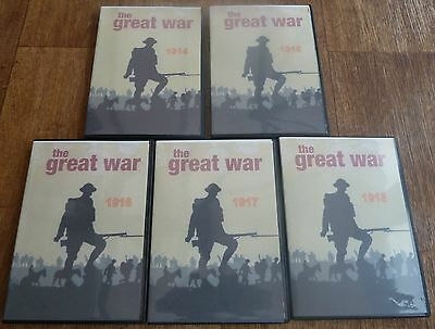 The Great War 1914-1918 5 DVD'S