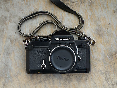 Nikon Nikkormat FT2 35mm SLR Film Camera Body, Black,  in excellent condition