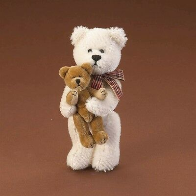 Limited Edition - Miniature Mohair Boyds Bears - Tyler 4021529 with Gift Box