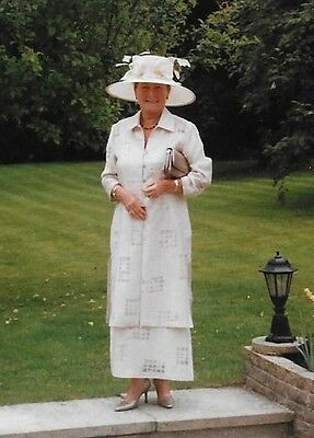 Mother of Bride/Groom,High quality L F Coll Dress & Coat + Whiteley Hat. Size 14