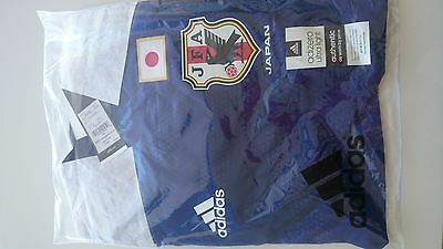 2014 Adidas Japan Authentic Player Mode Soccer Long Sleeves Jersey Combo