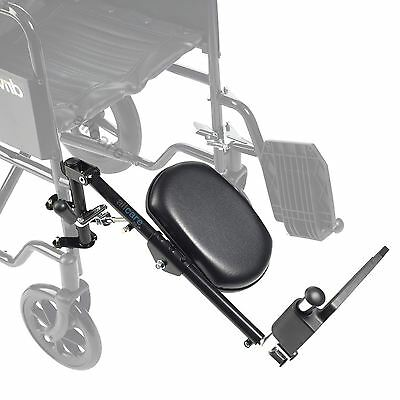 Drive Medical Steel Elevating Footrest Leg Rest for Wheelchair