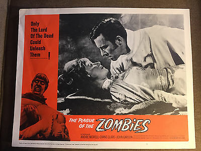 The Plague Of The Zombies 1966 20th Century Fox  horror lobby card Andre Morell