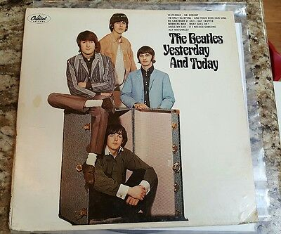 BEATLES Butcher Cover 1966 Mono LP 2nd State unpeeled Yesterday & Today