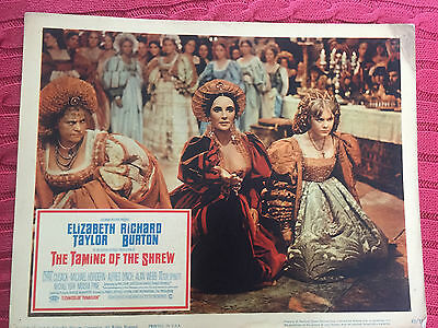 The Taming Of The Shrew 1967 Columbia lobby card Elizabeth Taylor