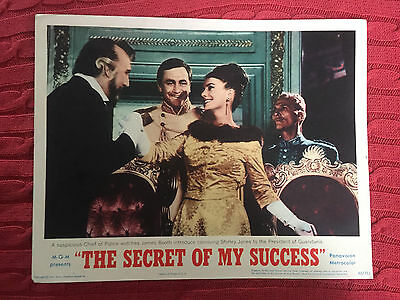 The Secret Of My Success 1965 MGM lobby card James Booth Shirley Jones
