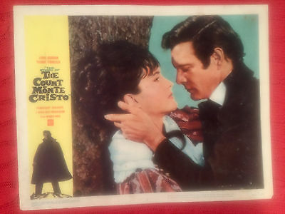 The Count Of Monte Cristo 1962 Warner Brothers lobby card Louis Jourdan