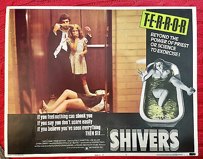 Shivers(They came From Within) 1975 horror lobby card Movielab